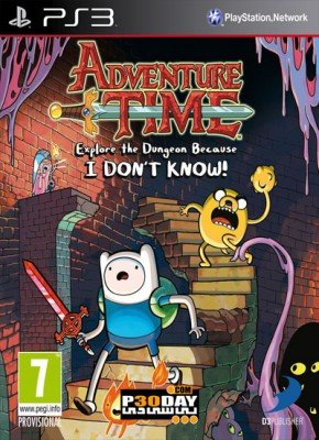بازی Adventure Time Explore Dungeon Because I DONT KNOW برای PS3