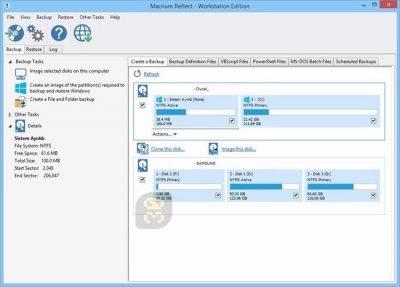 دانلود Macrium Reflect v7.3.5289 - بکاپ و بازیابی اطلاعات