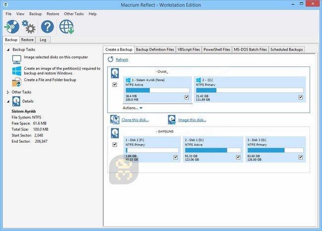 Macrium Reflect V7.2.4557 - Backup&Recovery