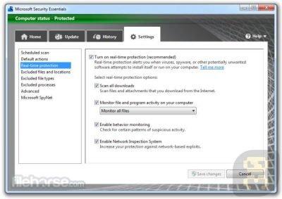 دانلود نرم افزار امنیتی Microsoft Security Essentials 4.10.209.0
