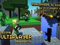 دانلود بازی معروف Pixel Gun 3D Minecraft ED v3.12 اندروید