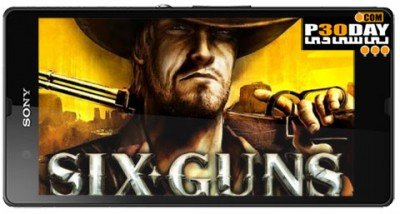 دانلود بازی اکشن Six Guns v2.6.0i اندروید