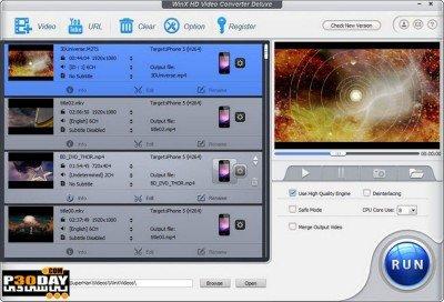 دانلود WinX HD Video Converter Deluxe 5.16.3.333  - تبدیل فیلم های HD