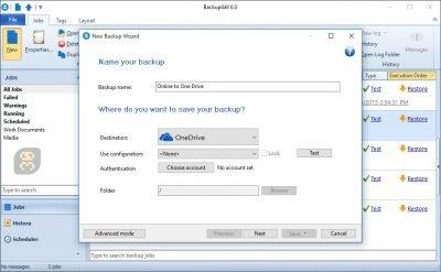دانلود Backup4all Lite 7.4.528 - تهیه بک آپ از تمامی فایل ها