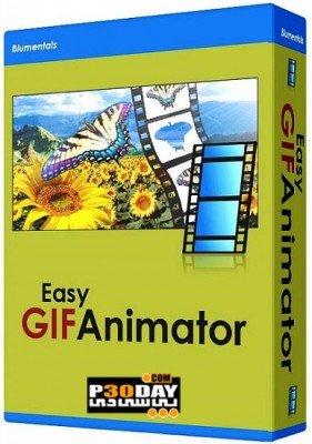 نرم افزار طراحی انیمیشن Blumentals Easy GIF Animator Pro 6.0