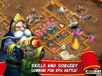 دانلود Castle Clash 1.3.4 - بازی آنلاین کستل کلش اندروید