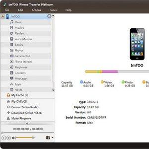 دانلود ImTOO iPhone Transfer Platinum 5.7.28 – انتقال اطلاعات آیفون به کامپیوتر