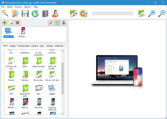 دانلود Insofta Cover Commander 6.6.0 - نرم افزار طراحی کاور 3 بعدی