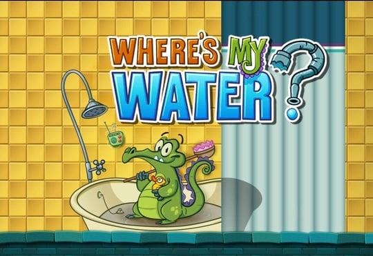 دانلود Where's My Water?  v1.16.0 - بازی حمام تمساح برای اندروید