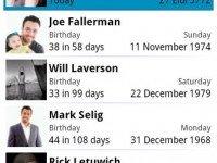 دانلود برنامه Birthdays v14.8 برای اندروید