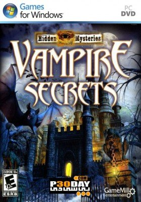 دانلود بازی Hidden Mysteries Vampire Secrets برای PC