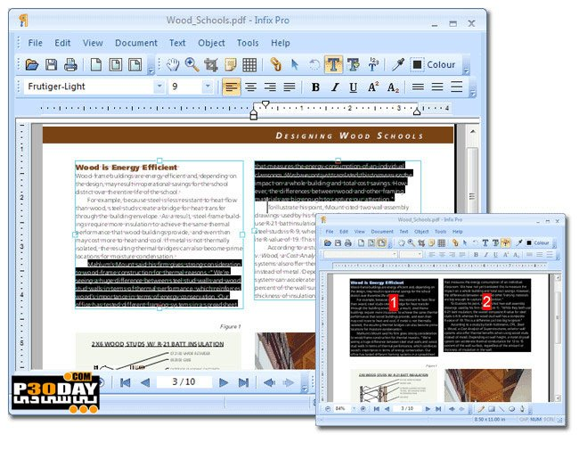 Iceni Technology Infix PDF Editor Pro 7.3.2 - Editing PDF Documents