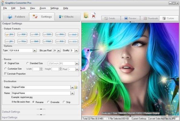 دانلود Graphics Converter Pro 4.54 Build 200620 - تبدیل فرمت های عکس