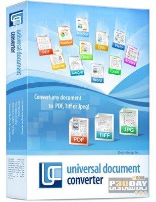 مبدل اسناد متنی Universal Document Converter 6.4.1407.18180