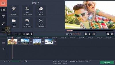 دانلود Movavi Video Editor Plus 15.1.0 - ویرایش فیلم ها در کامپیوتر