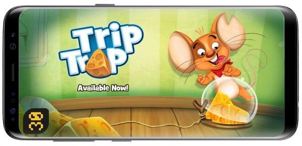 دانلود Trip Trap 1.8.8 بازی فرار از تله برای اندروید
