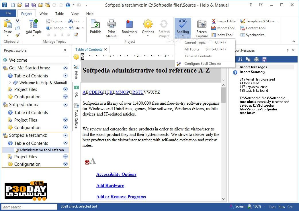 Help U0026 Amp; Manual 7.5.2 B4720 - Create Help File