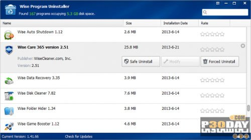 Wise Program Uninstaller 2.3.6.140 - Completely Remove Programs From PC