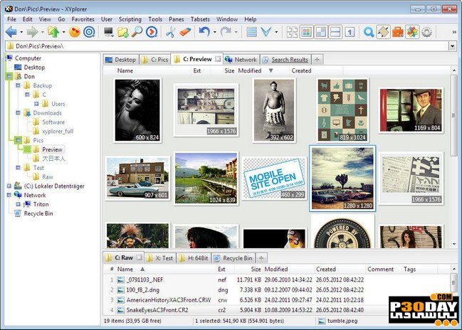 XYplorer V20.60.0200 - Great Replacement For Windows Explorer For Windows