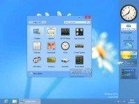 دانلود 8GadgetPack 31.0 - مجموعه گجت های جدید ویندوز 8
