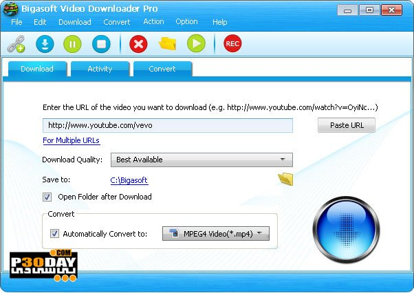 Bigasoft Video Downloader Pro 3.21.0.7269 - Quick Videos Online