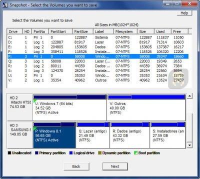 دانلود Drive SnapShot  1.46.0.18187 - تهیه نسخه پشتیبان از سیستم