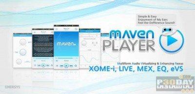 MAVEN Music Player Pro 2.35.11   پخش کننده حرفه ای اندروید
