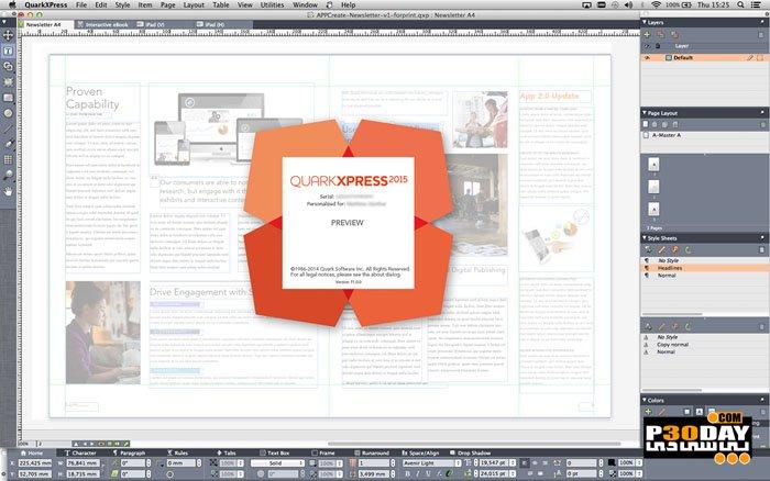 QuarkXPress 2019 15.1 - Catalog And Brochure Software Development