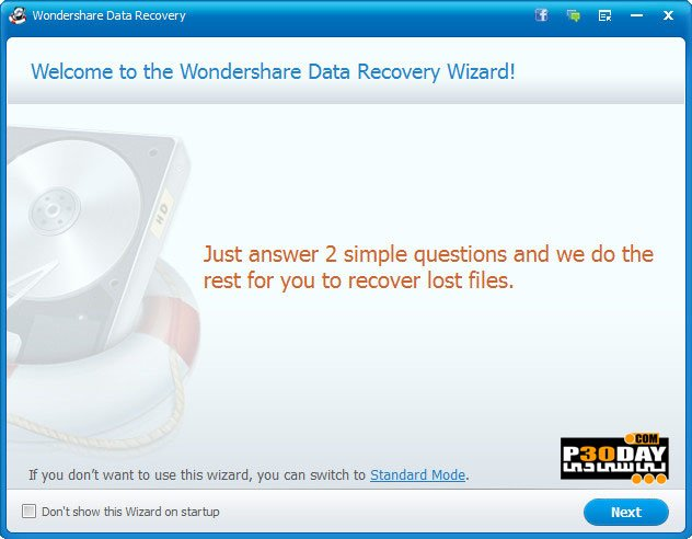 Wondershare Data Recovery 6.5.0.8 - Professional File Recovery