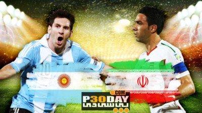 دانلود بازی ایران و آرژانتین Iran vs Argentina World Cup 2014