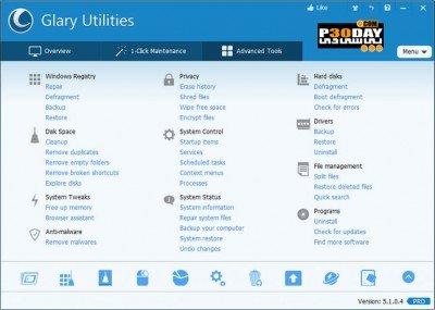 دانلود Glary Utilities Pro 5.67.0.88 - بهینه سازی کامل ویندوز