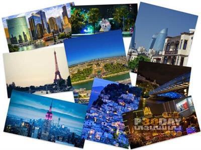 دانلود مجموعه 75 والپیپر زیبای شهرها