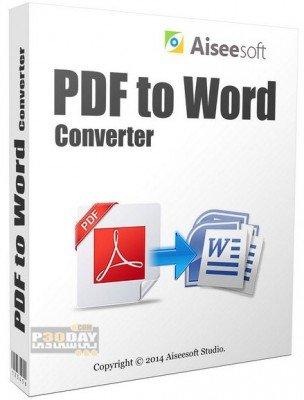 نرم افزار مبدل PDF با Aiseesoft PDF to Word Converter 3.2.10.22439