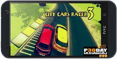 دانلود بازی جذاب اندروید City Cars Racer 3 v1.15