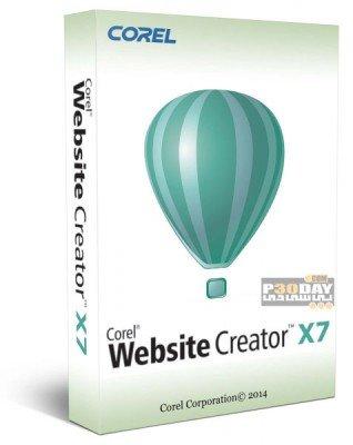 نرم افزار ایجاد صفحات اینترنتی Corel Website Creator X7 13.50.0100