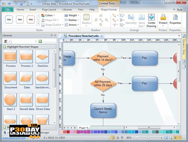 EdrawSoft Edraw Max 8.7.0.588 - Graph Drawing Tool