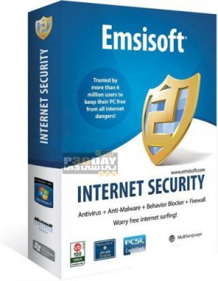دانلود بسته ضد جاسوسی Emsisoft Internet Security Pack 9.0.0.4157 Final