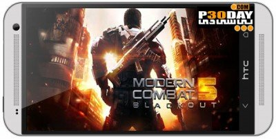 دانلود بازی اکشن Modern Combat 5: Blackout v1.0.1 اندروید