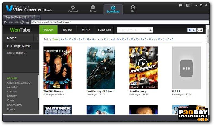 Wondershare Video Converter Ultimate 10.0.11.128 - Professional Video Converter