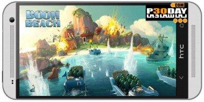 دانلود بازی اکشن Boom Beach 16.46 اندروید