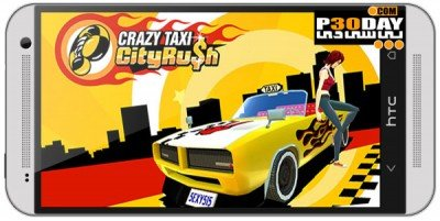 دانلود بازی هیجانی Crazy Taxi City Rush v1.0.1 اندروید