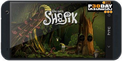 دانلود بازی ماجراجویی Shapik: the quest v1.0.2 اندروید