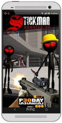 دانلود بازی اندرویدی Stickman Shooter 3D v1.2