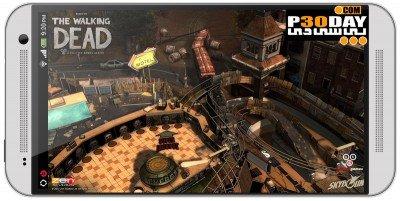 دانلود بازی اندرویدی The Walking Dead Pinball v1.0