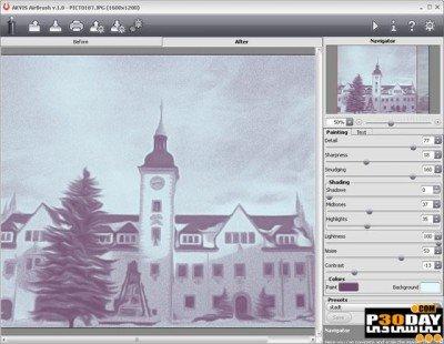 دانلود AKVIS AirBrush 4.0.426 - تبدیل عکس به نقاشی
