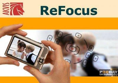 نرم افزار تنظیم فوکوس در تصاویر AKVIS Refocus 5.0.417