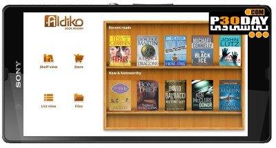 نرم افزار اجرای PDF در اندروید Aldiko Book Reader Premium v3.0.8