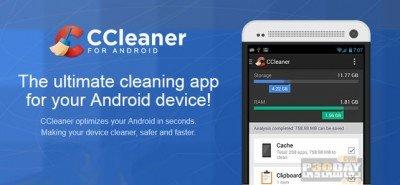پاکسازی فایل های بیهوده Android CCleaner v1.05.26 اندروید