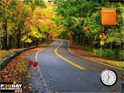 دانلود اسکرین سیور پاییز Autumn Time Screensaver v5.0