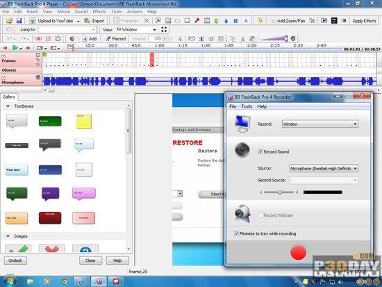 BB FlashBack Pro V5.36.0.4417 - Video Capture From The Desktop